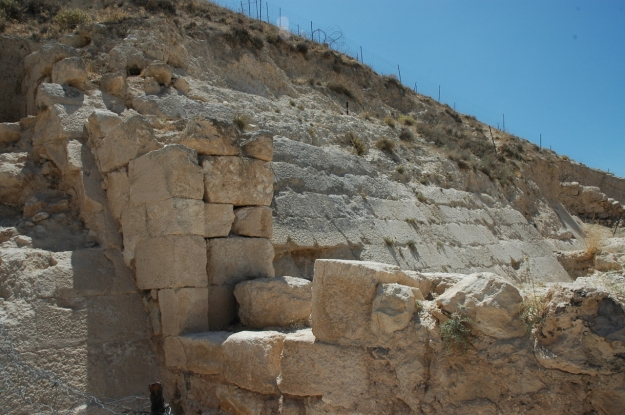 Glacis at Herodium