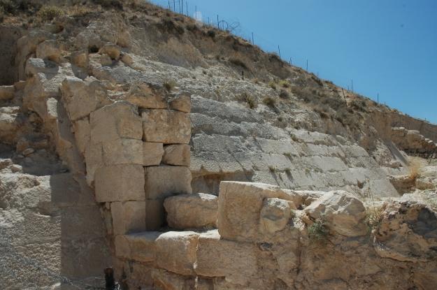 Glacis at Herodium