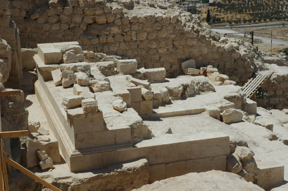 Tomb area at Herodium