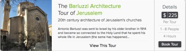 Barluzzi tour