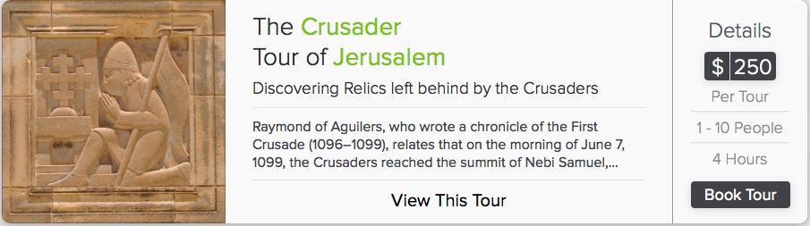 Crusader tour