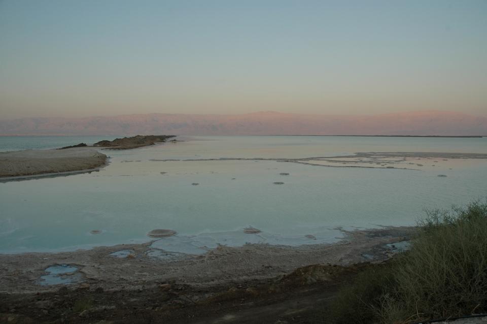 Dead Sea at Ein Bokek.