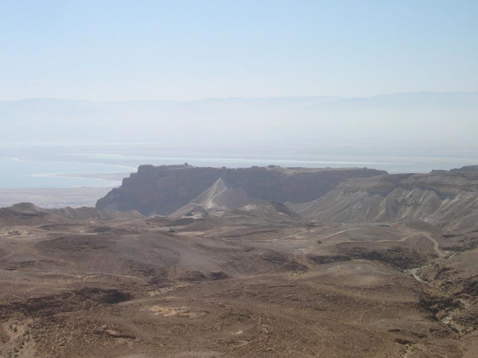 Masada (from Arad)
