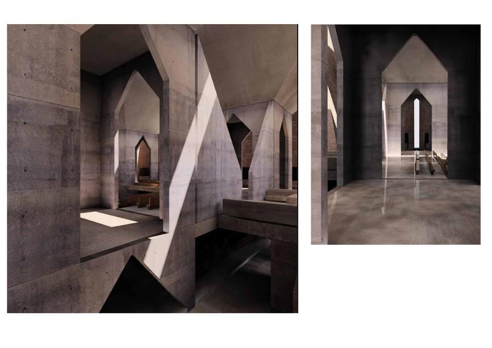 Model of Kahn's Hurva synagogue, from Kent Larson