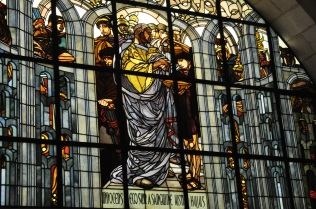 Pilate stained glass