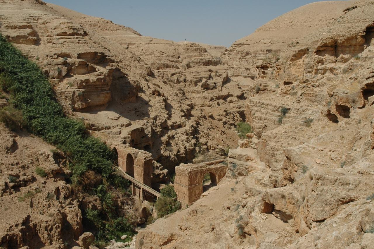 Wadi Qelt Israel Map