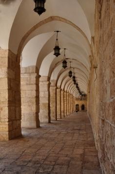 Arches on Haram el-Sharif_090