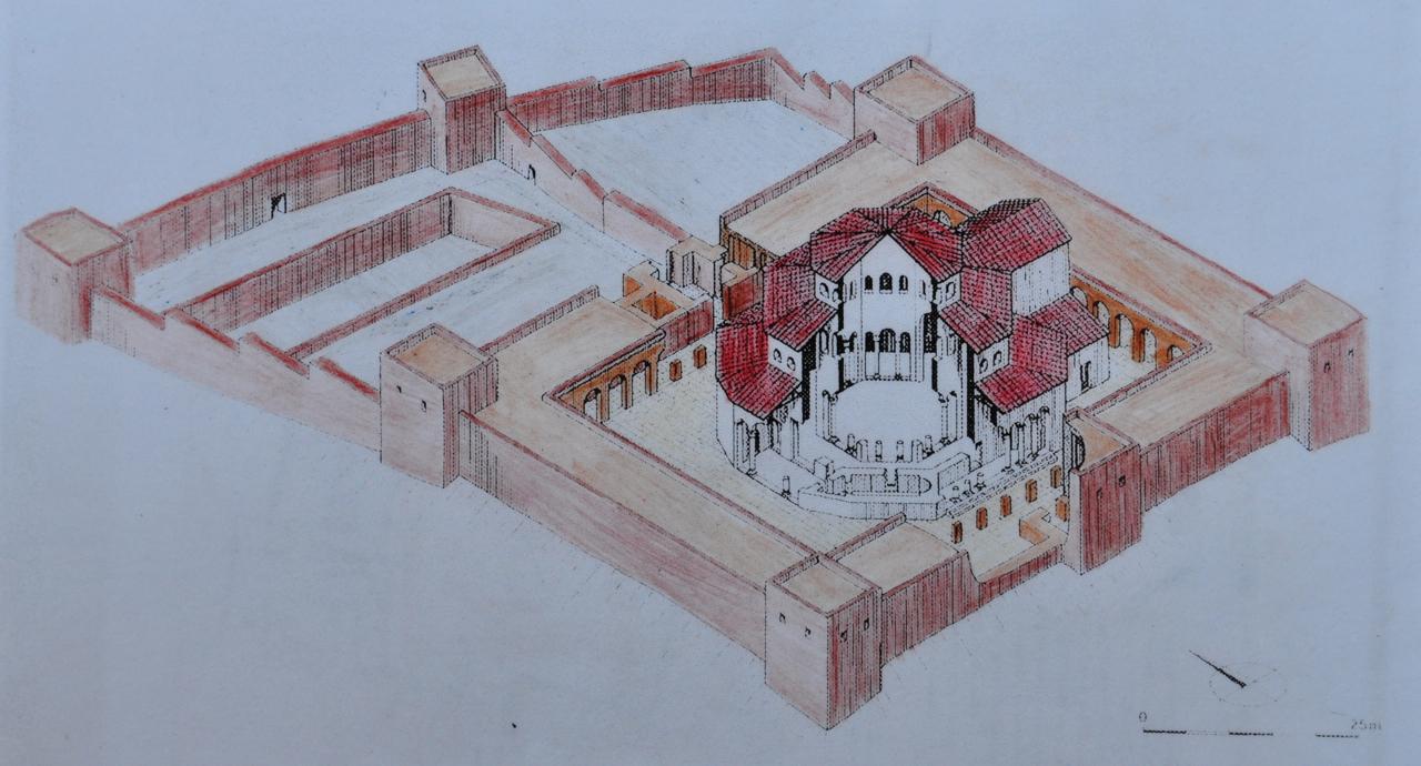 Martyrium architecture for Architecture byzantine definition