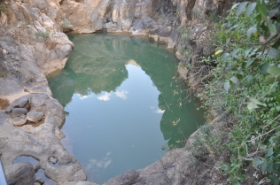 Pool at Saar Falls