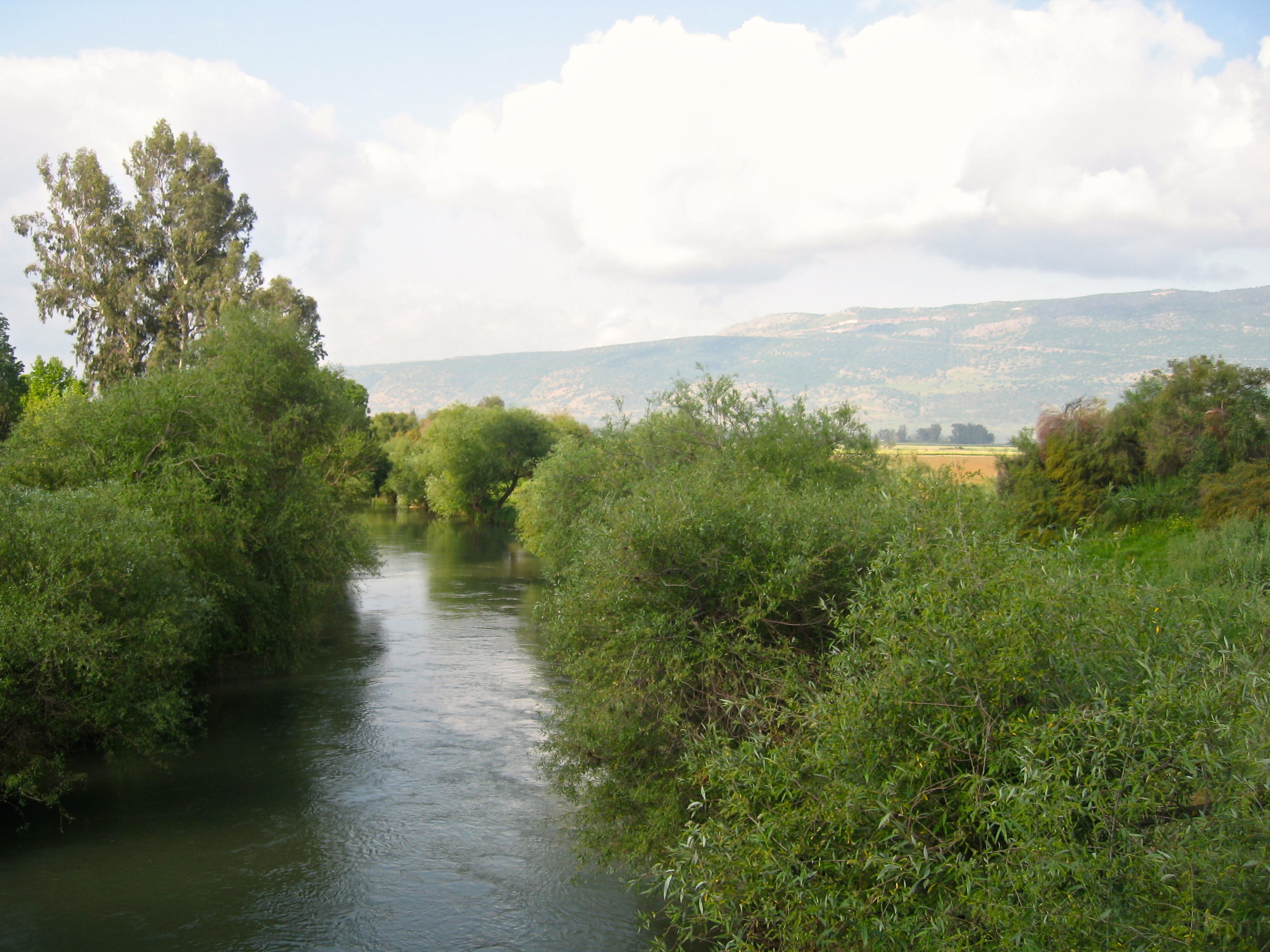 Photo of the Week – Jordan River  Israel Tour Guide  Israel Tours
