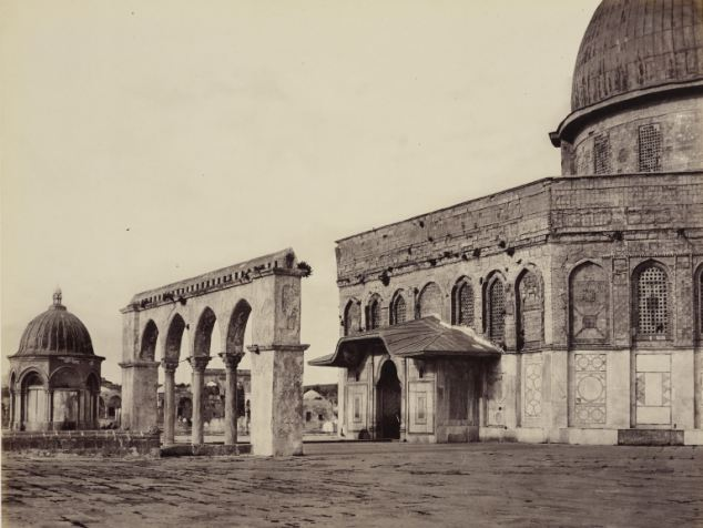 Dome of Rock, 1862 Francis Bedford