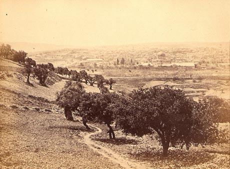 Jerusalem from Mount of Olives, 1862 Francis Bedford
