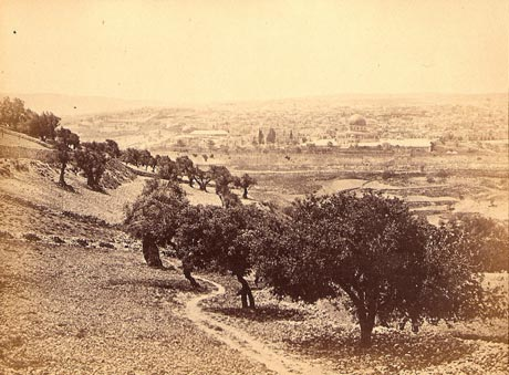 Jerusalem from Mount of Olives, 1862 Francis Bedford