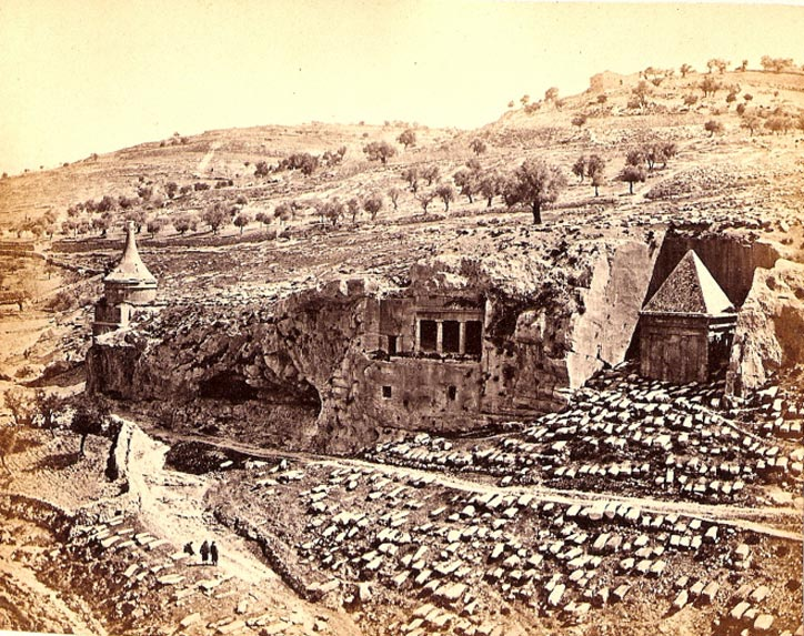 Valley of Jehosaphat, 1862 Francis Bedford