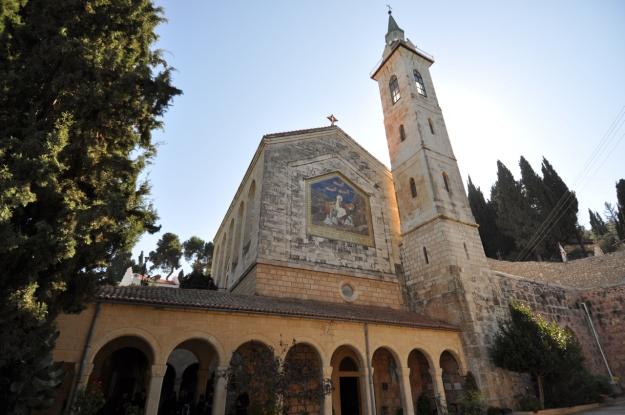 Ein Karem and Barluzzi's Church of the Visitation