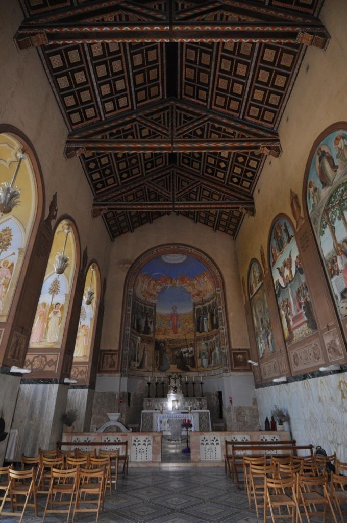 Visitation church Interior