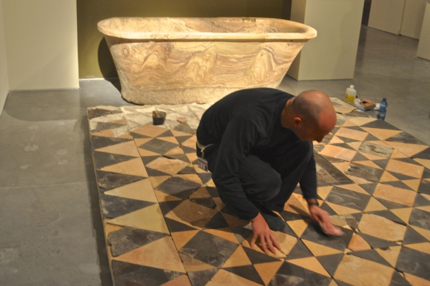 Bathtub Opus Sectile