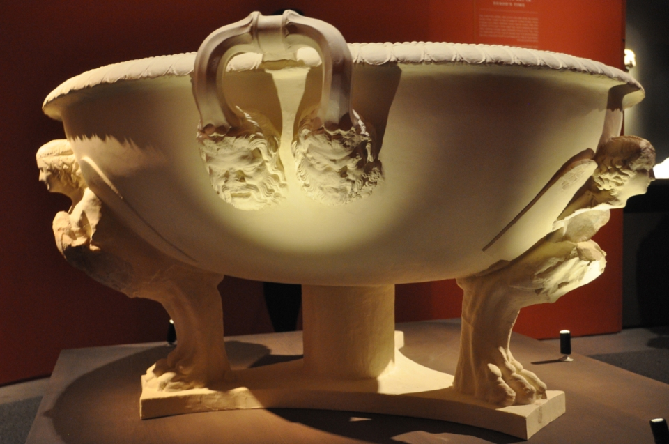 Greek 3-footed basin