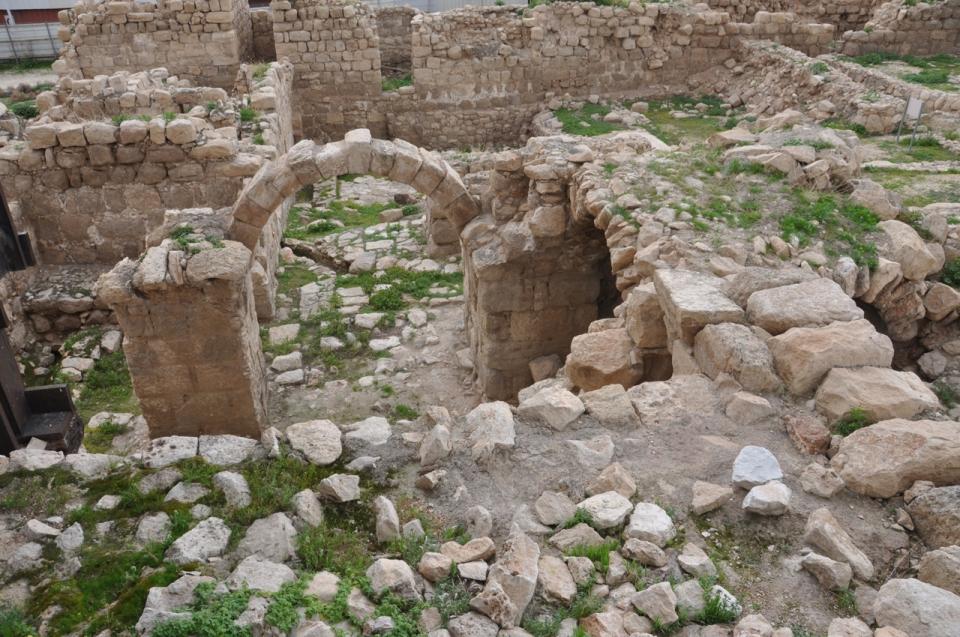 Inside Euthemius monastery