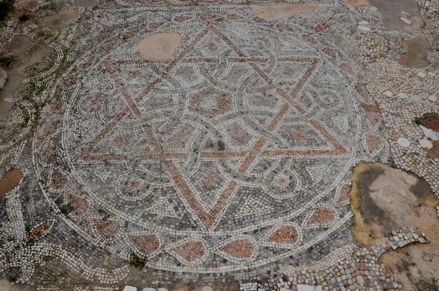 piso de mosaico
