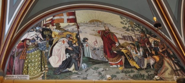Austrian Emperor Franz Joseph as Crusader