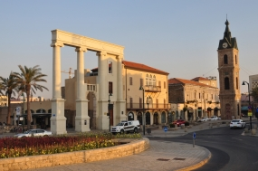 Jaffa Clock tower