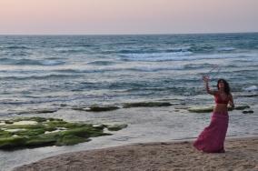 On Tel Aviv Beach