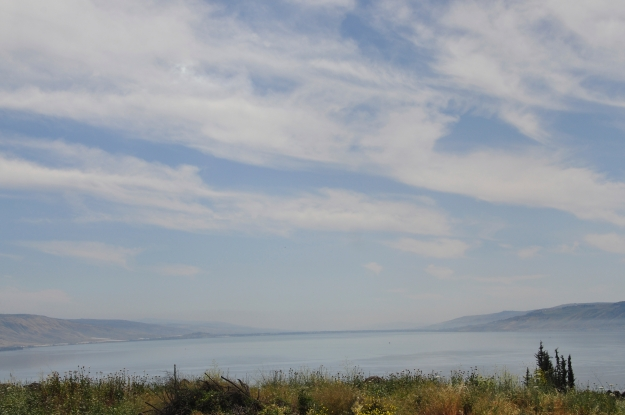 Sea of Galilee from Almagor