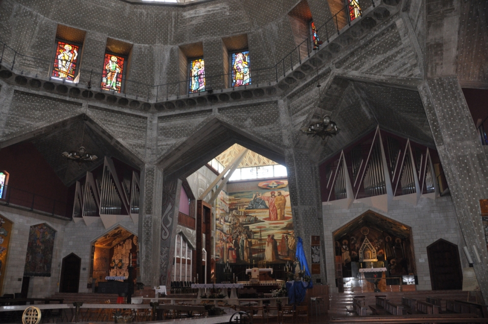 Chuch of Annunciation, Interior