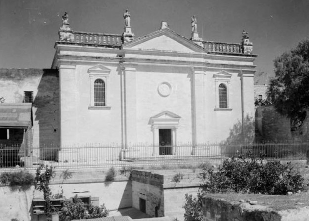 Church of Annunciation, Nazareth, 1945