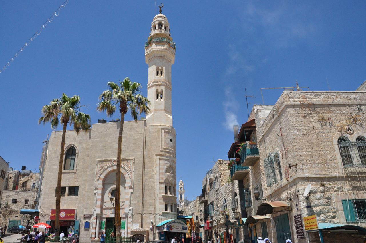 Новая мечеть в Вифлееме