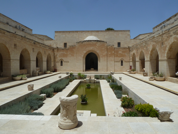Rockefeller courtyard