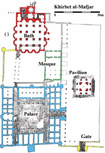 Khirbet al-Mafjar plan