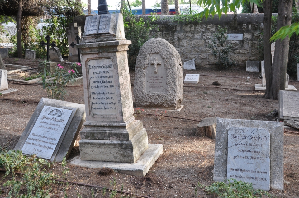 Templer cemetery