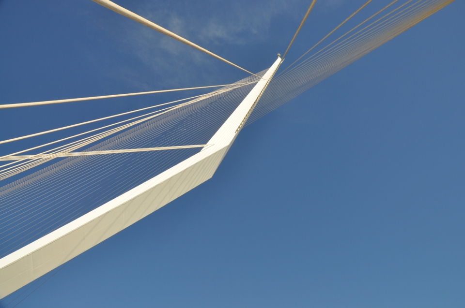 Calatrava Bridge of Strings