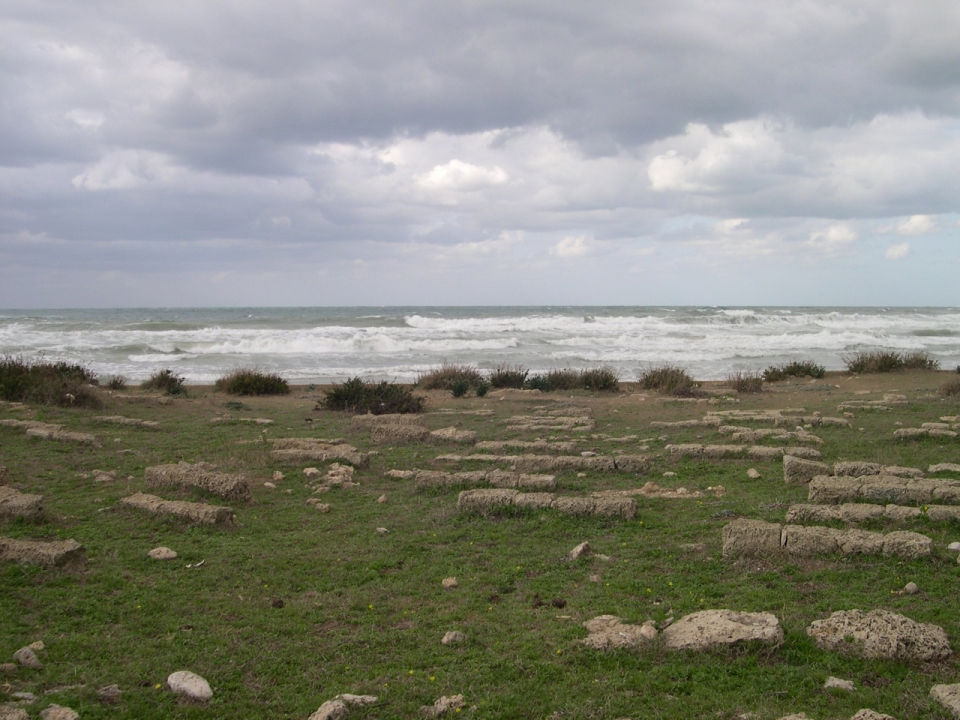 Crusader cemetery Atlit