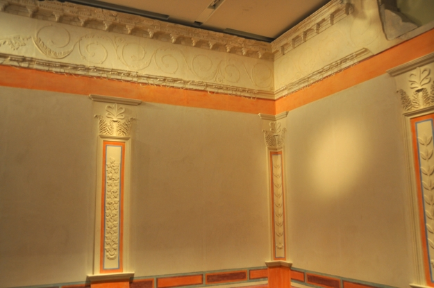 Loggia at museum