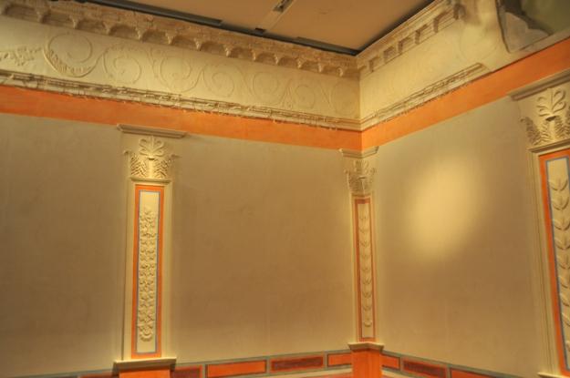 Loggia at museum