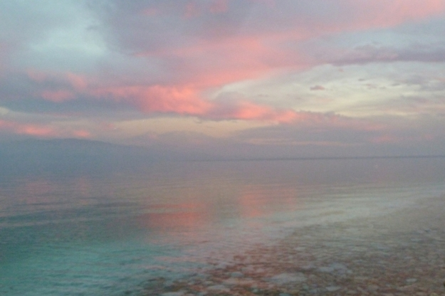 Dead Sea sunset 2