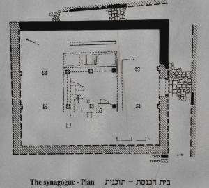 1st C Synagogue plan