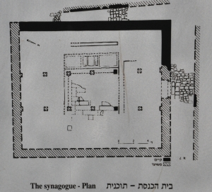 1st C Synagogue plan