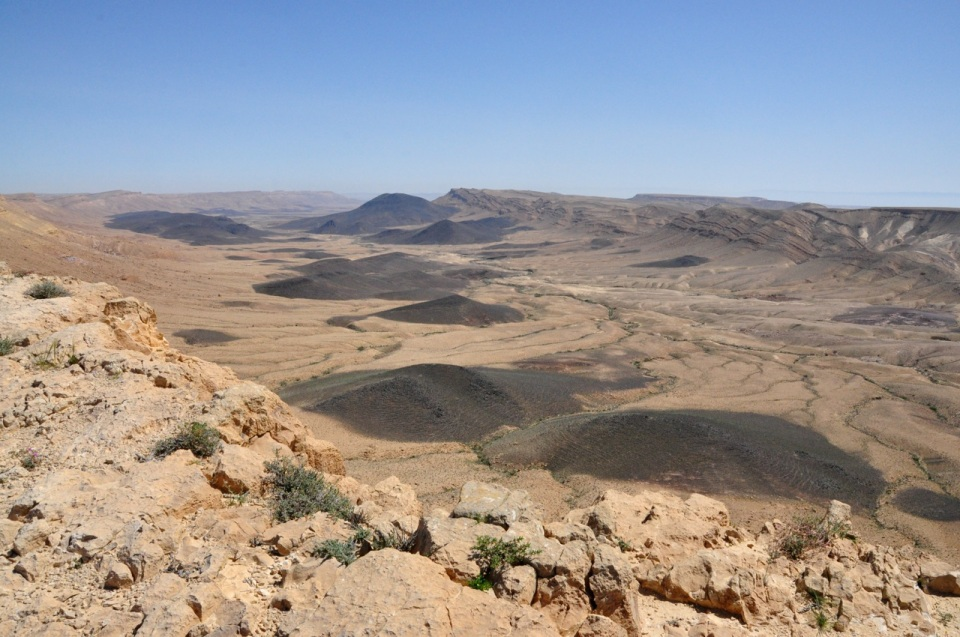 From Karne Ramon lookout