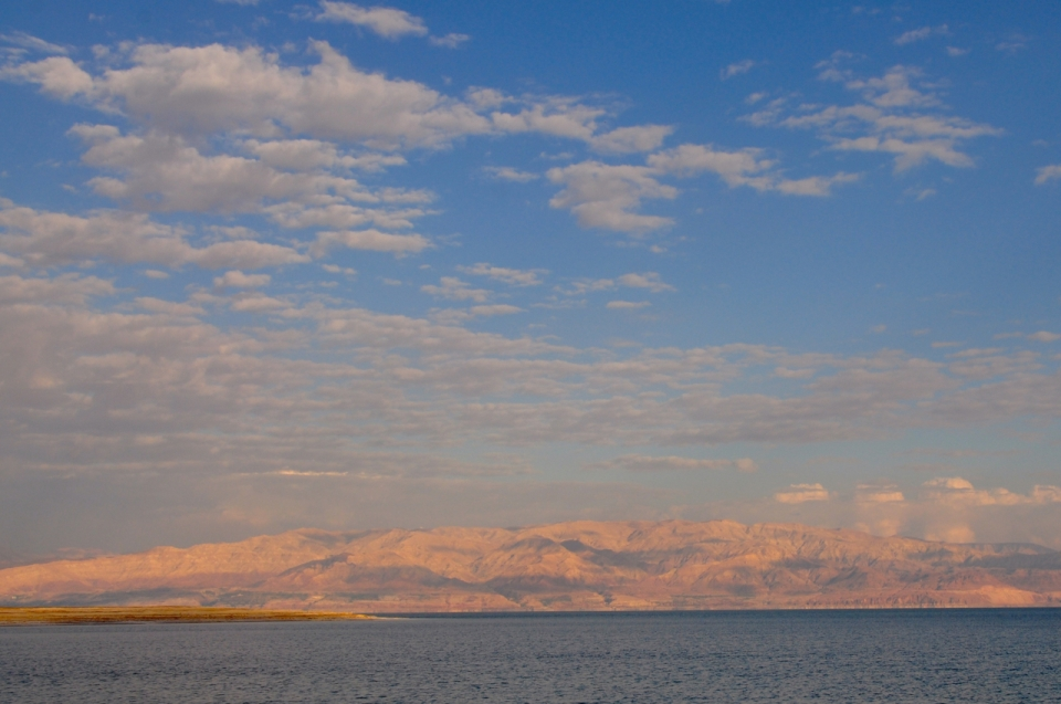 Dead Sea sunset