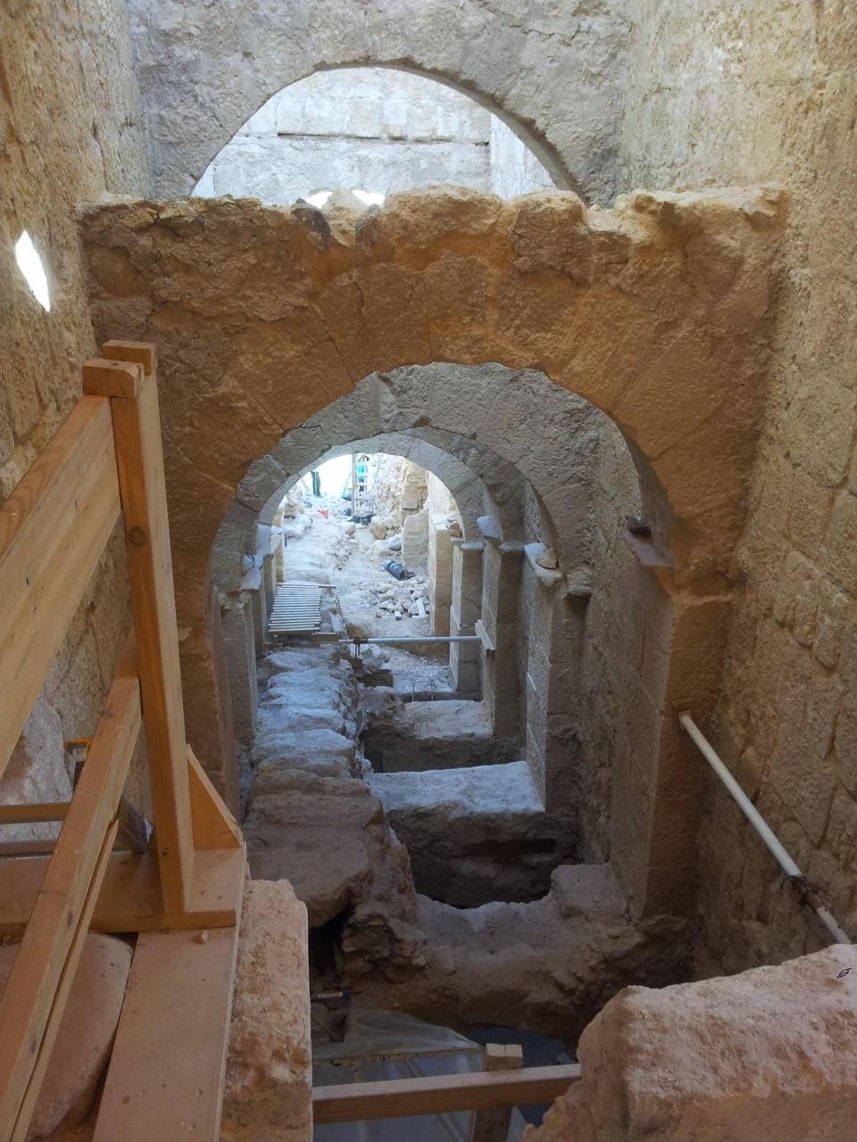 Herodium staircase