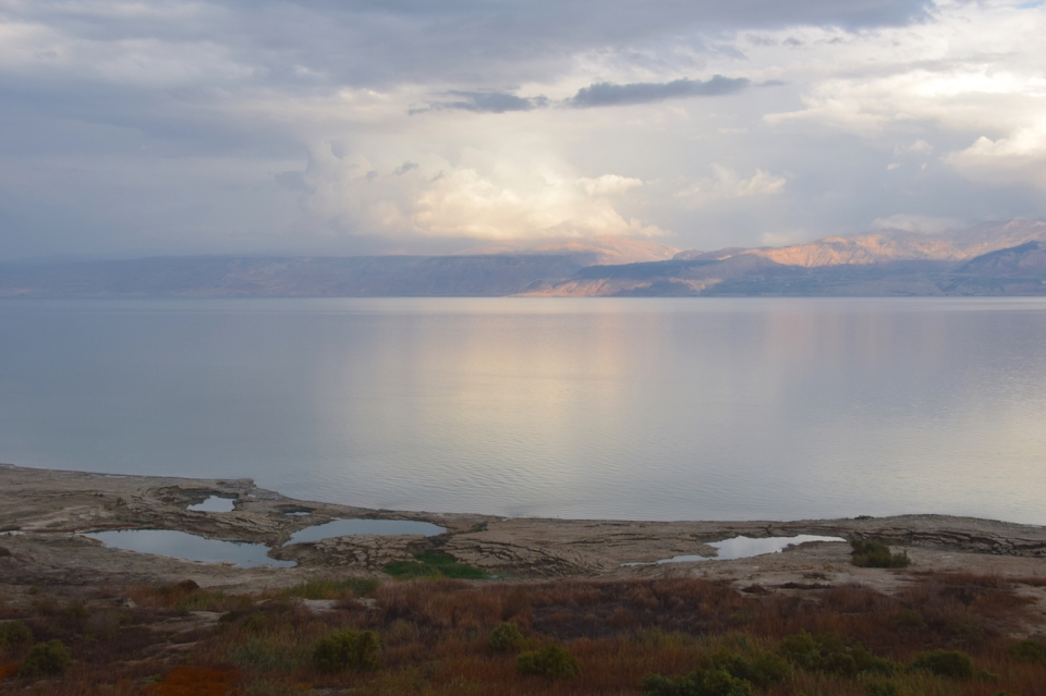 Dead Sea and sinkholes