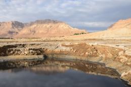 En Gedi mountain reflection