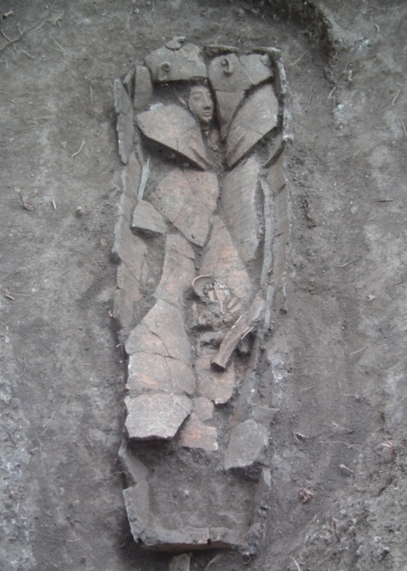 Anthropoid Sarcophagus, IAA