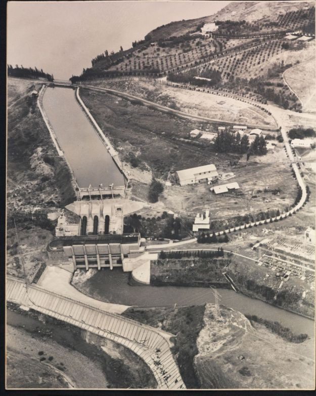Hydroelectric plant Naharayim - Kluger 1937