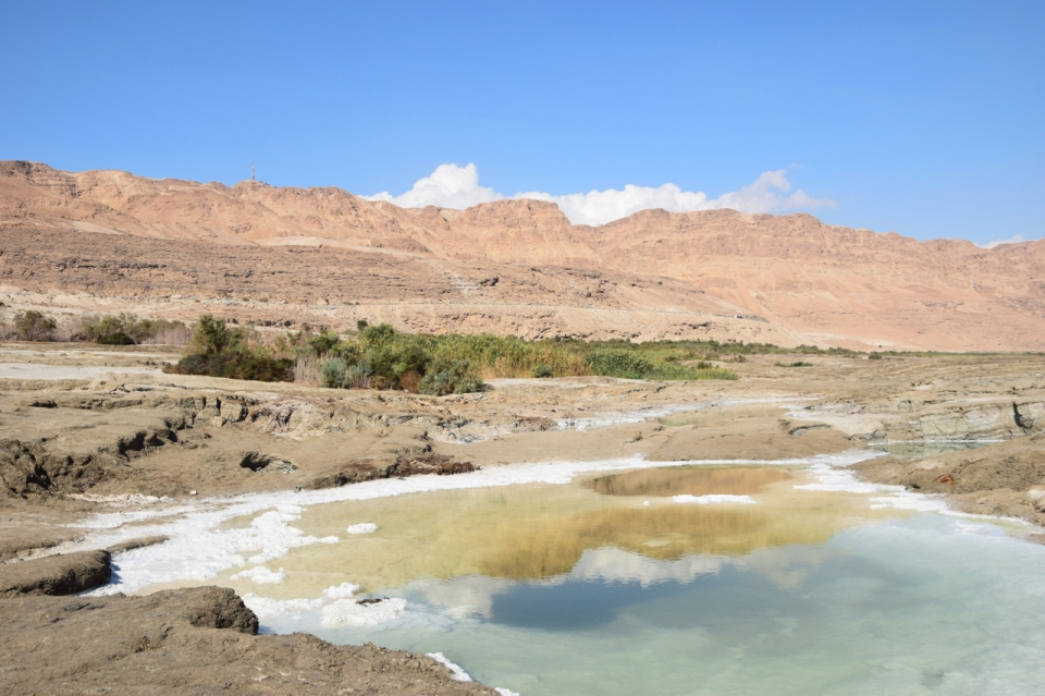 Sinkhole at Dead Sea, Israel